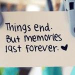 Amintirile mă chinuiesc. Dar de acum poți da skip.