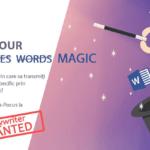 Hocus-Pocus! Se caută magician de cuvinte! [COPYWRITER wanted]