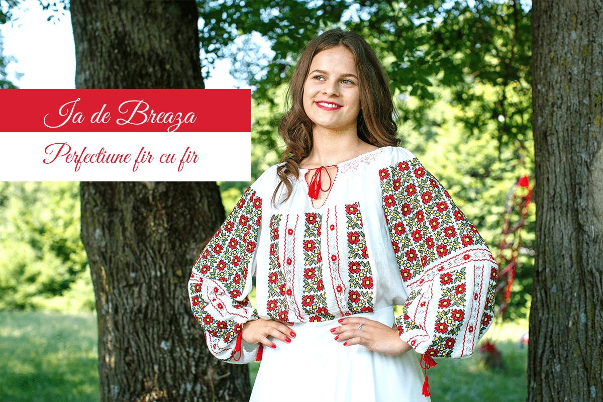 Ie traditionala de Breaza – perfectiune fir cu fir. Va zic si unde le puteti admira in weekend in Bucuresti! (P)