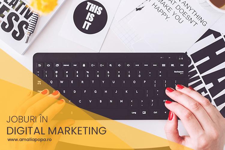 Joburi in Marketing Online (Octombrie 2018)