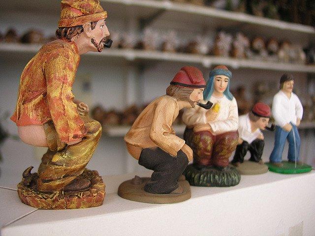 spania traditii ciudate de craciun